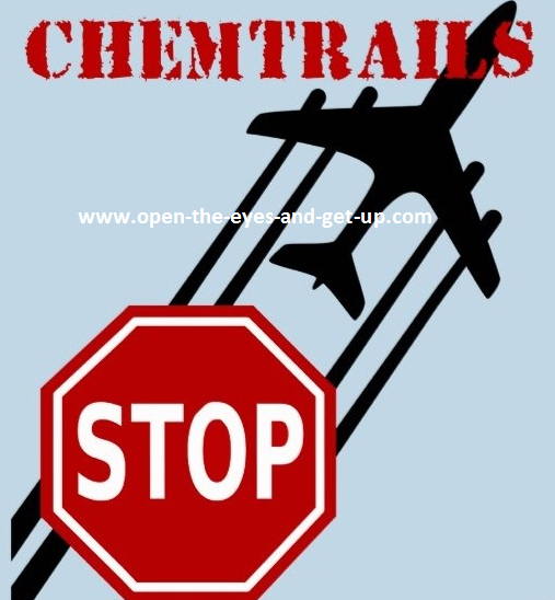 Aufkleber Stop Chemtrails